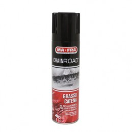 GRAISSE A CHAINE MAFRA CHAINROAD USAGE ROUTE (AEROSOL 250ml) (OFFICIAL DISTRIBUTOR DELLORTO)