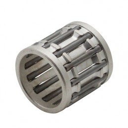 CAGE A AIGUILLES DE PISTON 12x15x15 COLORI ARGENT ADAPTABLE MINARELLI 50 AM6-DERBI 50 SENDA-PEUGEOT 50 TKR, SPEEDFIGHT, XPS-MBK