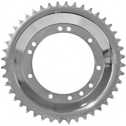 COURONNE CYCLO ADAPTABLE MBK 51 ROUE RAYONS 44 DTS (ALESAGE 94mm) 11 TROUS  -SELECTION P2R-