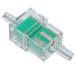 FILTRE A ESSENCE RECTANGULAIRE TRANSPARENT DIAM 7 mm (VENDU A L'UNITE)
