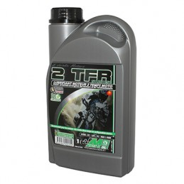 HUILE MOTEUR 2 TEMPS MINERVA 50 A BOITE-MOTO TFR 100% SYNTHESE, BIO DEGRADABLE (1L) (100% MADE IN FRANCE)