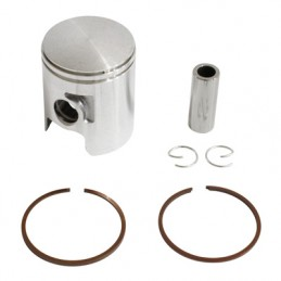 PISTON 50 A BOITE ADAPTABLE DERBI 50 SENDA, GPR-GILERA 50 SMT, RCR-APRILIA 50 RS 2006+ (MOTEUR EURO 2 + 3) (SEGMENTS 1,2mm)  -P2