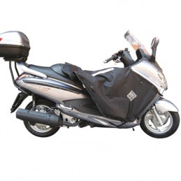 TABLIER COUVRE JAMBE TUCANO POUR SYM 125 GTS 2006+2011, 250 GTS 2006+2011, 300 GTS 2006+2011 (R077-N) (TERMOSCUD)