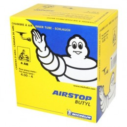 CHAMBRE A AIR  4''  4.00-4 MICHELIN 4AB VALVE COUDEE 90°