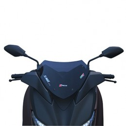 BULLE-SAUTE VENT MAXISCOOTER POUR YAMAHA 300 XMAX 2017+FUME  -FACO- BULLE-SAUTE VENT MAXISCOOTER POUR YAMAHA 300 XMAX 2017+FUME