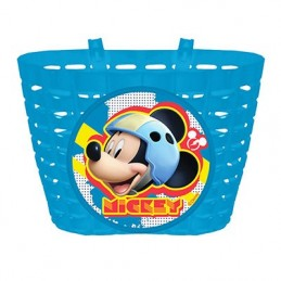 PANIER AVANT ENFANT DISNEY MICKEY BLEU FIXATION PAR SANGLE SUR CINTRE PANIER AVANT ENFANT DISNEY MICKEY BLEU FIXATION PAR SANGLE