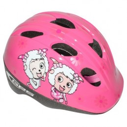 CASQUE VELO ENFANT GES CHEEKY GIRLS ROSE TAILLE 46-53 SYSTEME TURNLOCK (VENDU SOUS CAVALIER) CASQUE VELO ENFANT GES CHEEKY GIRLS
